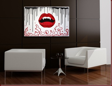 new-original-pop-art-red-lips-on-white-canvas-a-modern-vampire-painting-by-laura-barbosa-vampires-kiss