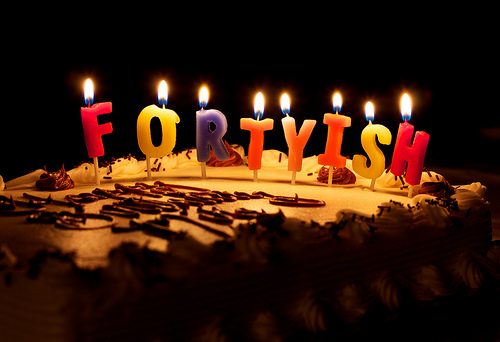 fortyish candles by Mike F. on Flicke