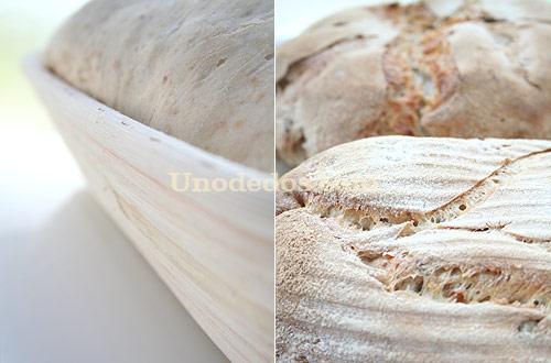 Pan de sourdough con nueces