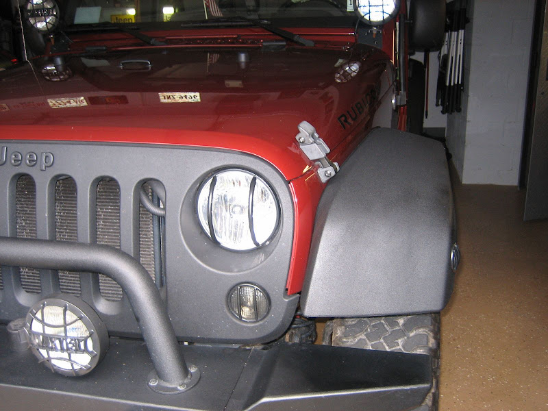 Pics wanted of Stock Flares done with Rhino Line or LineX ...