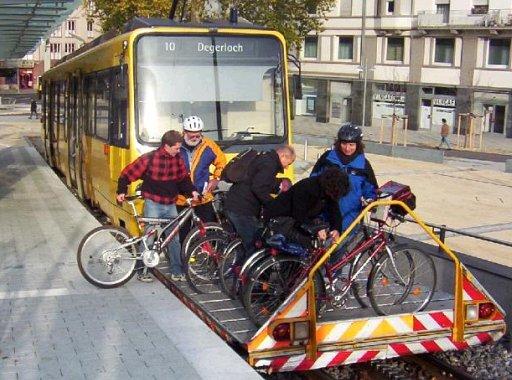 自転車を電車に載せる方法(Vorstellwagen) + monogocoro
