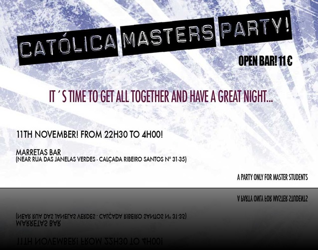 Masters Party - Cartaz raw