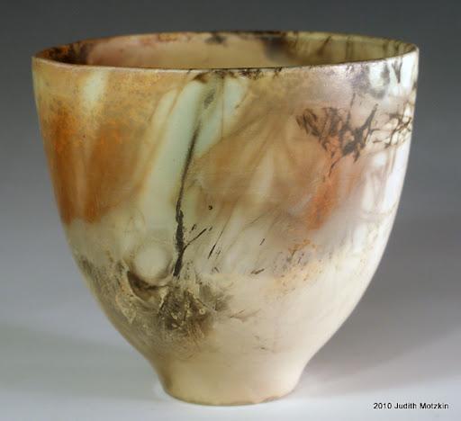 Judith Motzkin - eggshell bowl