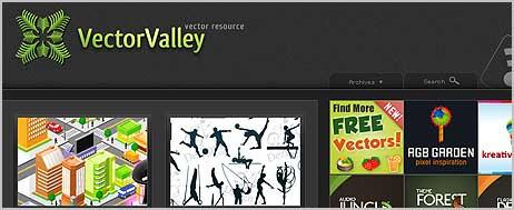 32 paginas para descargar vectores gratis
