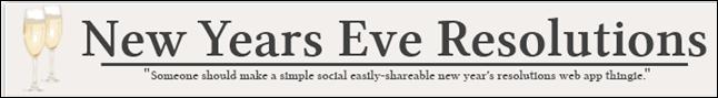 NYEresolutions.com Logo