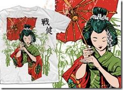Geisha-Vector