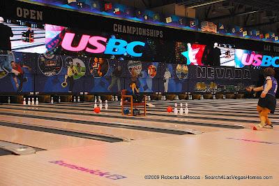 Trick Bowling - 2009 USBC Bowlfest Las Vegas