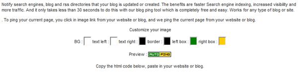Auto Ping : Cara gampang melakukan ping blog