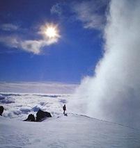 Alpinist_im_Gegenlicht