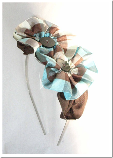 pretty ribbon headband from hautefelt