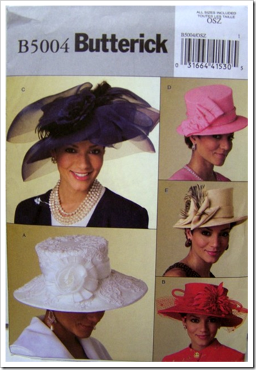 Derby Day Hats pattern