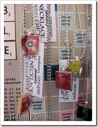 Tamdoll's Scrabble Tile Charms