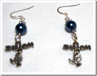 Shalom Dove Earrings