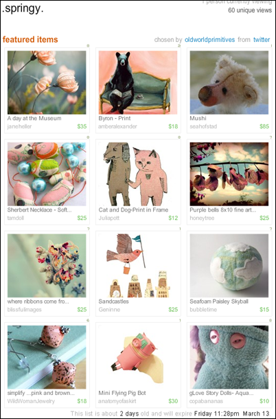 springy treasury