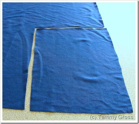 Tamdoll Drawstring Bag Sewing Tutorial 1