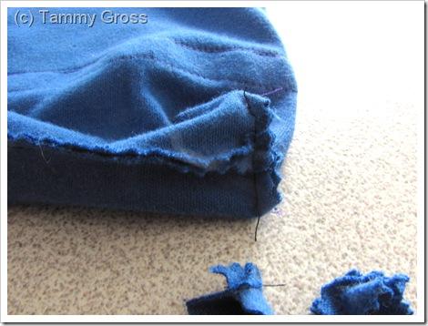 Tamdoll Drawstring Bag Sewing Tutorial 6