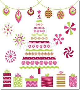 ist2_7283400-retro-pink-christmas-tree-and-design-elements