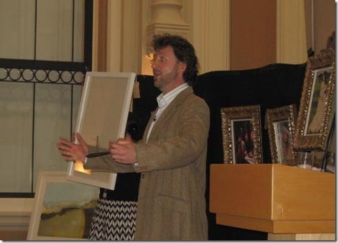 auctioneer Martin Lambert