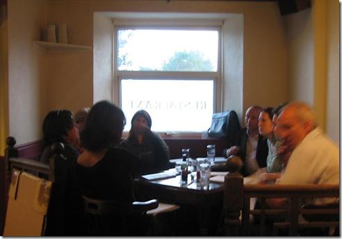 Rowan Gallery Artist Meeting
