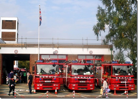 Open day at West Midlands Fire Station