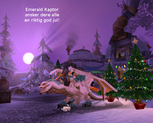 God jul fra Emerald Raptor!