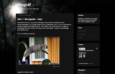 Fotoside/fotoblogg: oftograf