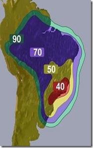 brasil amazonas 61 W