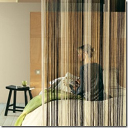 rideaux flis rayés