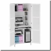 armoire en blanc