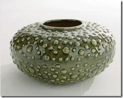 vase en vert