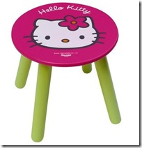 tabouret hello kitty