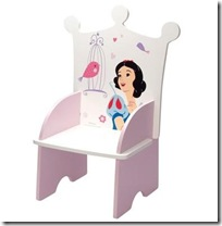 chaise fille princesse