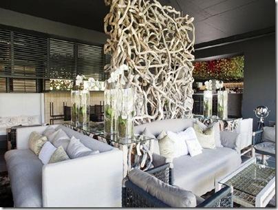 Salon Style Africain interieur design moderne: la déco africaine : le voyage à l'infini