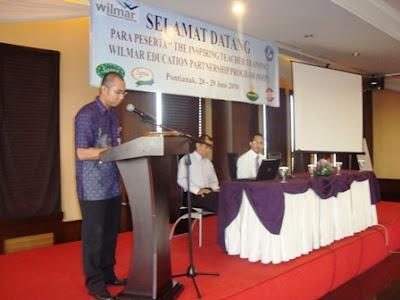 yang kreatif di Pontianak bersama guru SD binaan PT Wilmar Indonesia