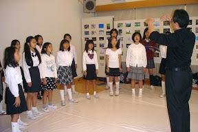 印西サザンプラザ少年少女合唱団・我孫子第一小学校合唱部のよる合唱