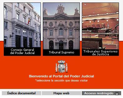 portal del Poder Judicial