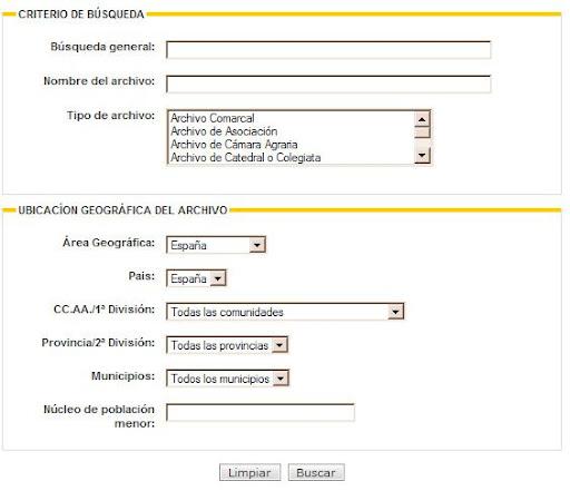 Censo de Archivos Españoles e Iberoamericanos
