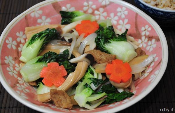 Vegetarian Chop Chuey (羅漢齋)