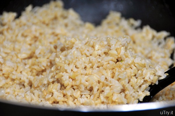 Brown Rice for Shrimp Fried Rice