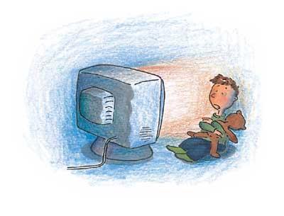 防止电视病