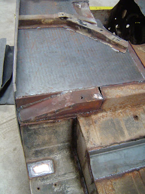 Underside of FJ40 tub