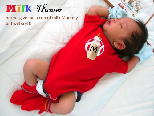 the milk hunter
