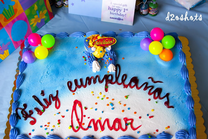 Happy First Birthday Omar!