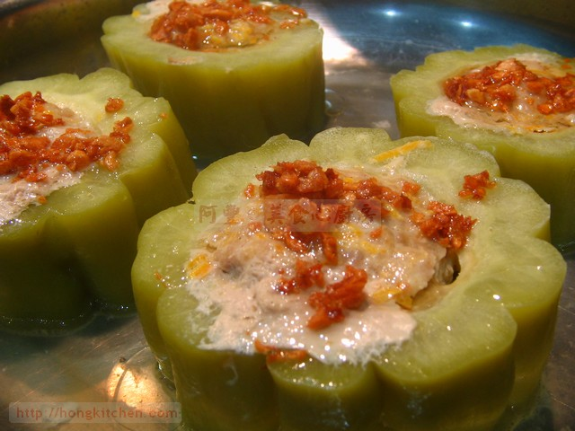 Stuffed Bitter Melon