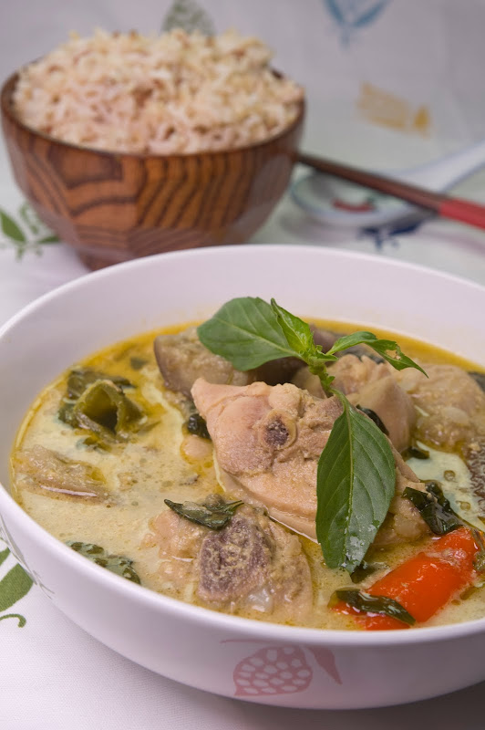 Green Curry Chicken