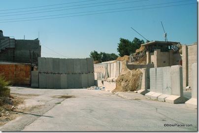 Bethlehem Rachel's Tomb approach, tb092204912b
