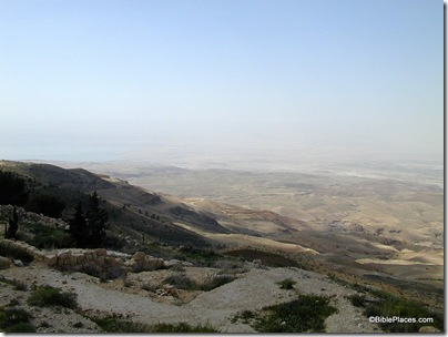 Mt Nebo view to Dead Sea, tb031801859