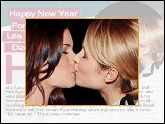 Glee beijo atrizes