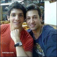 Pablo Ruiz e namorado