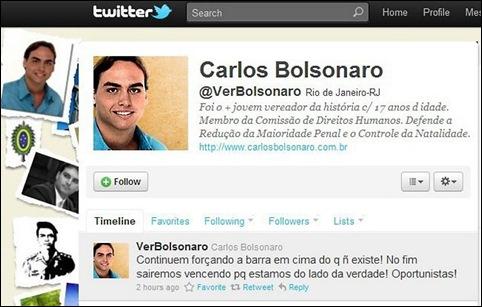 Carlos Bolsonaro Twitter
